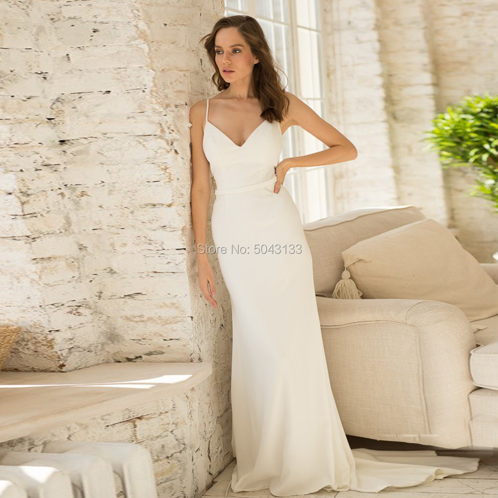 Two Piece Mermaid Satin Wedding Dresses 2019 V Neck Straps Sleeveless Bridal Gowns Sexy Backless Bride Dress With Lace Jackets