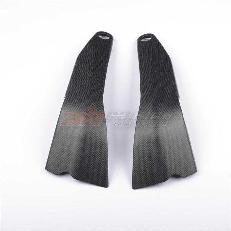 Frame Cover Heat Shield  For Ducati V4 V4S Full Carbon Fiber 100%