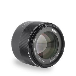 Meike 85 мм F1.8 полная Рамка Автофокус портретный объектив для Nikon DSLR камер D500 D610 D750D780 D800 D810 D850 D3400 D3500