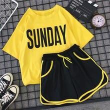 Женский Повседневный Спортивный костюм для бега летние крутые