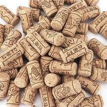 50 100 шт пробки для вина, многоразовые функциональные портативные уплотнительные пробки для бутылок, барные инструменты, кухонные аксессуары
