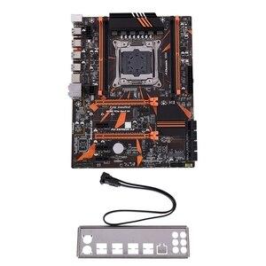X99 LGA2011-V3 материнская плата DDR4 128G четырехканальный RAM USB3.0 SATA3.0 NVME M.2 для LGA2011 системный процессор