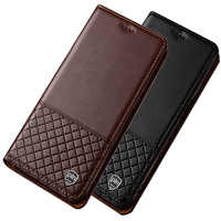 Magnet phone case genuine leather flip cover credit card slot for Asus ZenFone 3 MAX ZC553KL/ZenFone 3 MAX ZC520TL flip case