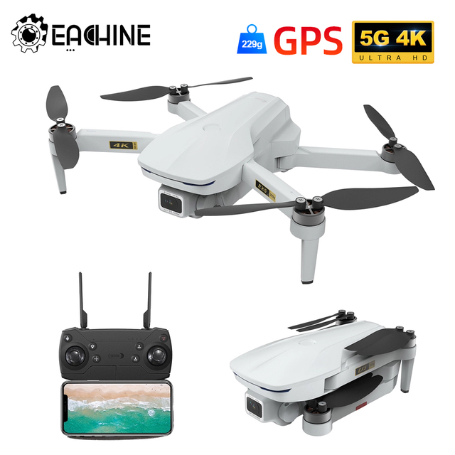 Eachine EX5 RC Quadcopter Drone Helicopter 4k GPS HD Mini Camera Professional With GPS 1000 200 METERS 5G WIFI FPV Racing Toys 2