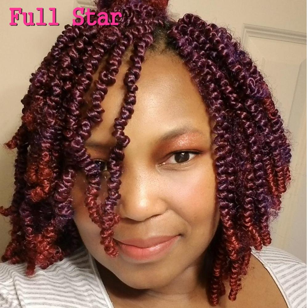 Cool Full Star 8 Spring Twist Synthetic Crochet Braids Hair Extensions Schematic Wiring Diagrams Amerangerunnerswayorg
