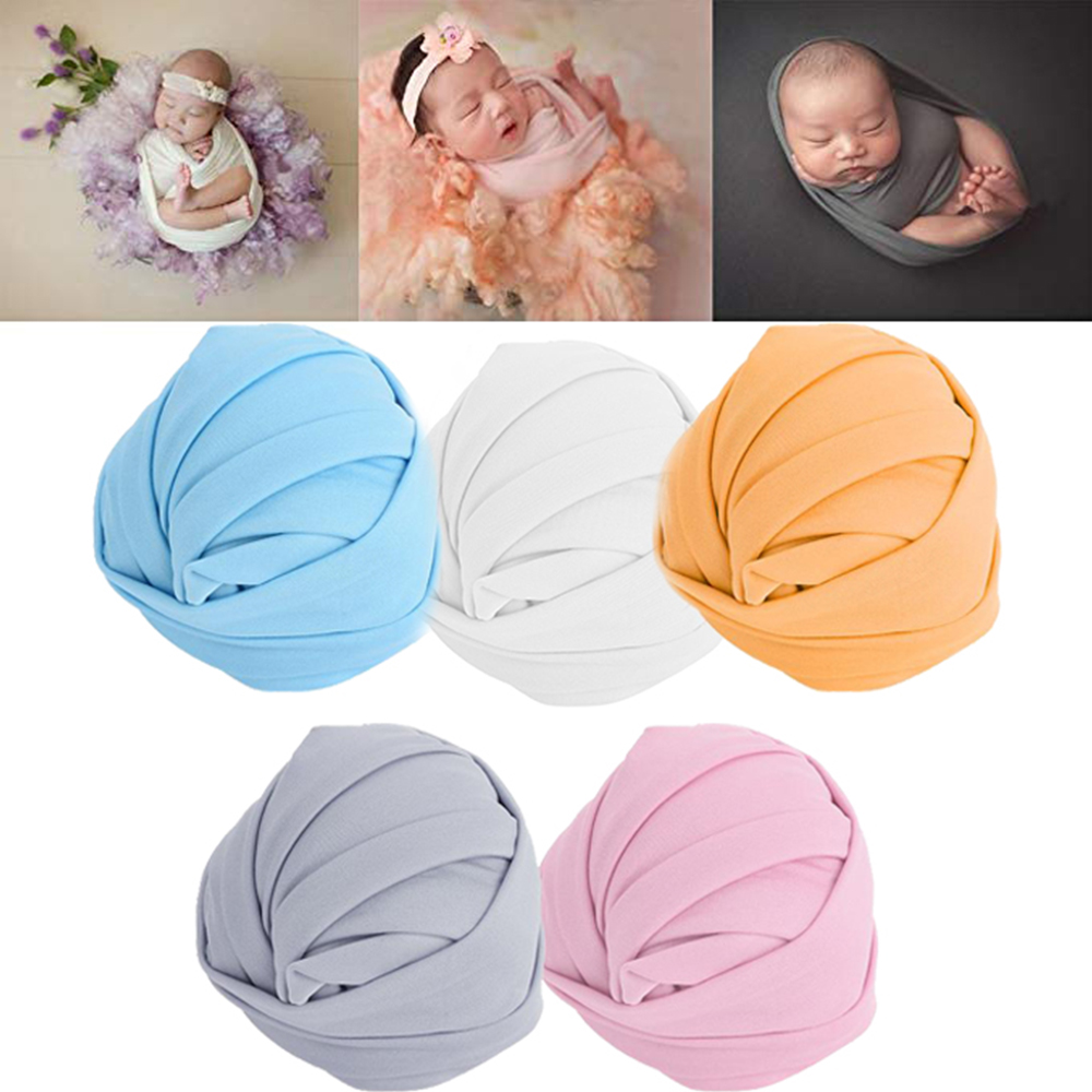 Blanket Wrap-Prop Stretch Photography-Shoot Newborn-Baby Infants Soft for Elastic Skin-Friendly