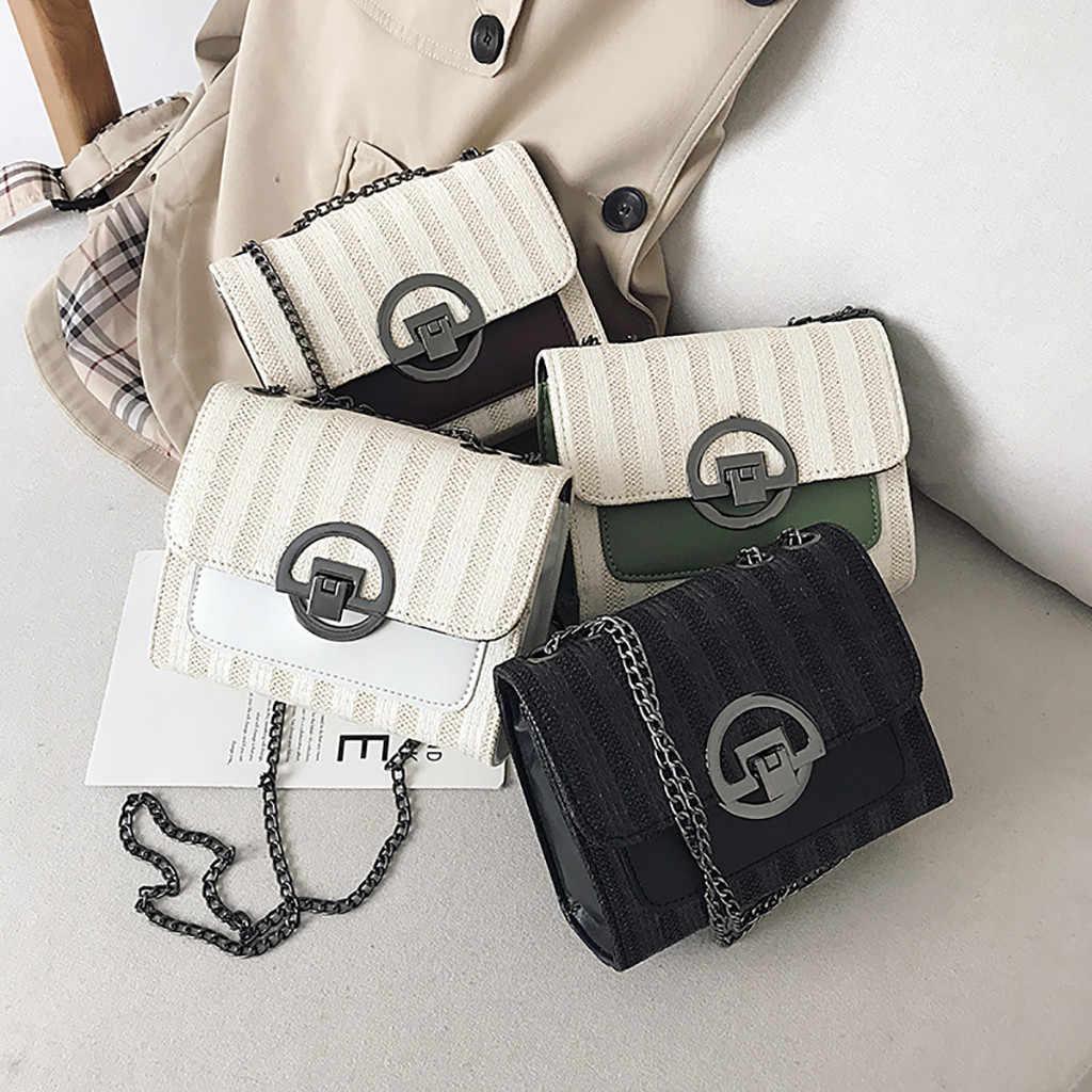 Contraste de Cor Mulheres Messenger bags Bonito Selvagem Versão do pendurada no ombro saco Tendência Mulheres bolsas Mini saco pequeno Quadrado