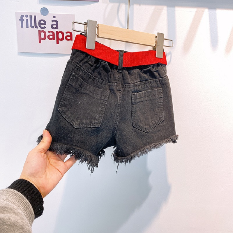 2020 New Kid Summer Jeans Denim Hot Shorts With Waistband 3