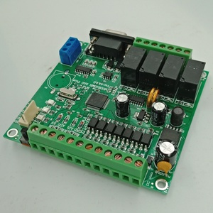 Image 2 - Programmeerbare Logische Controller Plc FX2N 10MR STM32 Mcu 6 Ingang 4 Uitgang Ad 0 10V Motor Controller Dc 24V Automatische Relais Controle