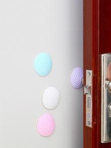 Mat Door-Handle Anti-Touch-Pad Anti-Collision Wall 2pcs Cushion Shock-Pad Wall-Protection