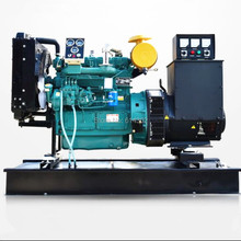Base ALTERNATOR Diesel-Engine ZH4100ZD Brushless Ricardo with And Fuel-Tank Weifang 40kw/50kva