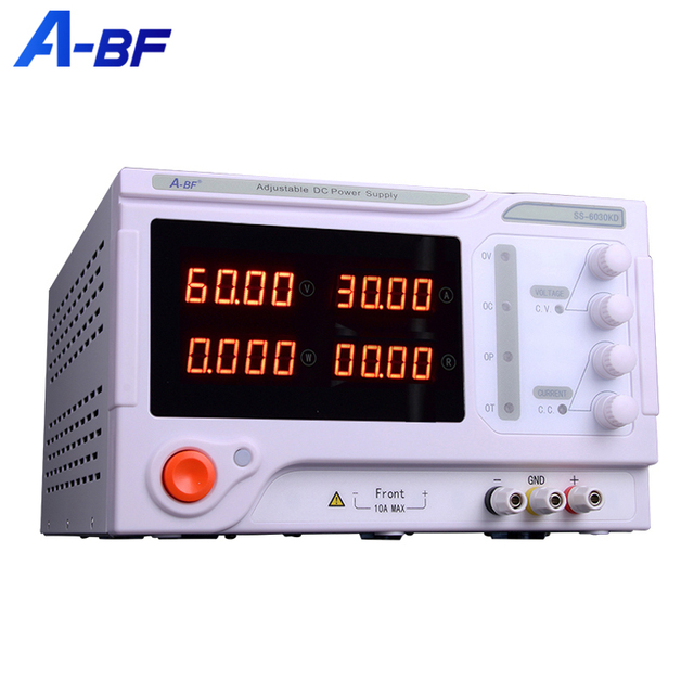 A-BF Switching Lab Power Supply Unit DC Regulated Adjustable Four Digit Power Voltage Current Regulator Bench Source 10A 30A 50A