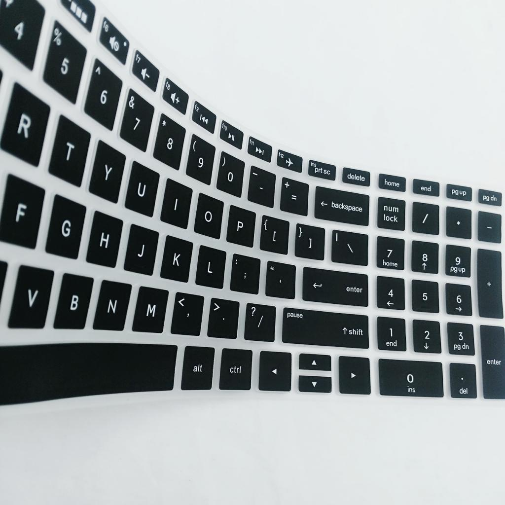 2Pcs Durable Anti Dust Keyboard Cover Soft Silicone Skin Film for Hp 15.6 Inch Bf-in Keyboard Covers from Computer /& Office