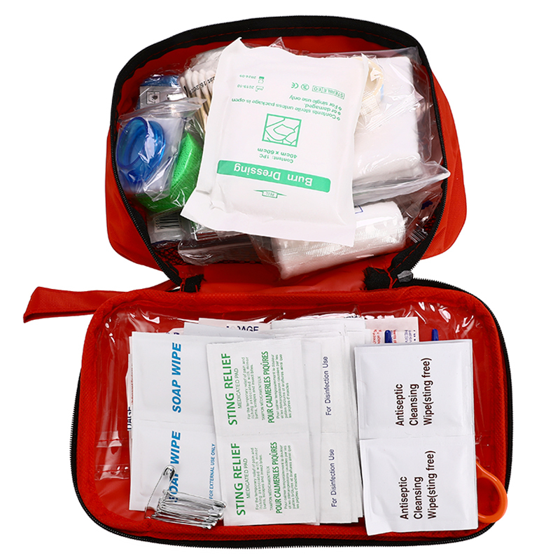 180pcs/pack Safety First Aid Kit Camping Hiking Travel Medical Emergency Kit Survival Treatment Pack Set Outdoor Wilderness