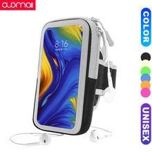 Unisex Sports running phone arm bag for redmi 7 note8 Pro k20 xiaomi 9se mi8 cc9e mix 3 max armband Fitness Phone