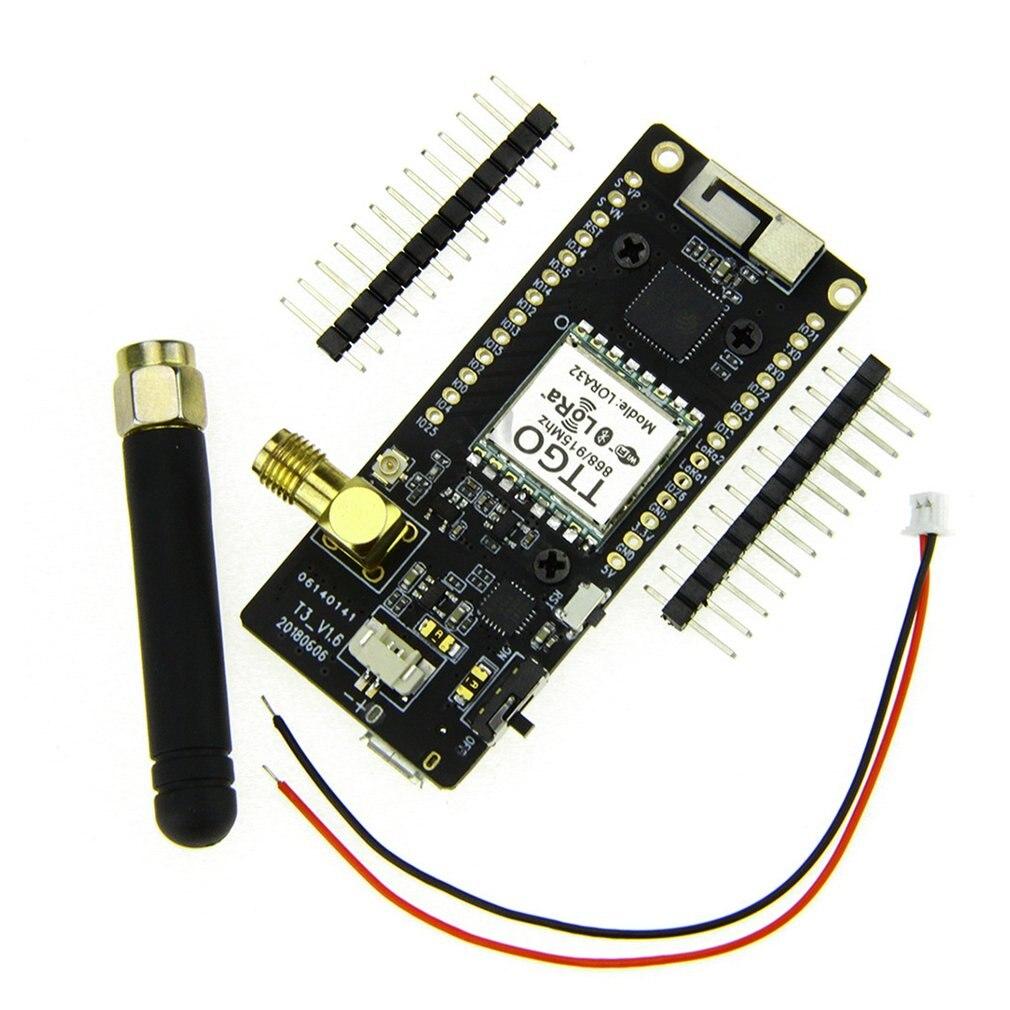 Esp32 lora32 v2.1 1.6 versão 433/868/915 mhz lora ESP-32 oled sx1276 esp32 oled-display bt placa de desenvolvimento sem fio wifi lora