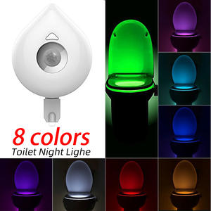 Toilet-Light Wc-Lamp Smart-Motion-Sensor Changeable 8-Colors Hot Waterproof DIDIHOU