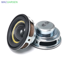 2 sztuk 40mm wodoodporny głośnik pełnozakresowy 1.5 Cal 3W 4 Ohm 8ohm Audio przenośne głośniki dla DIY wodoodporny głośnik Bluetooth