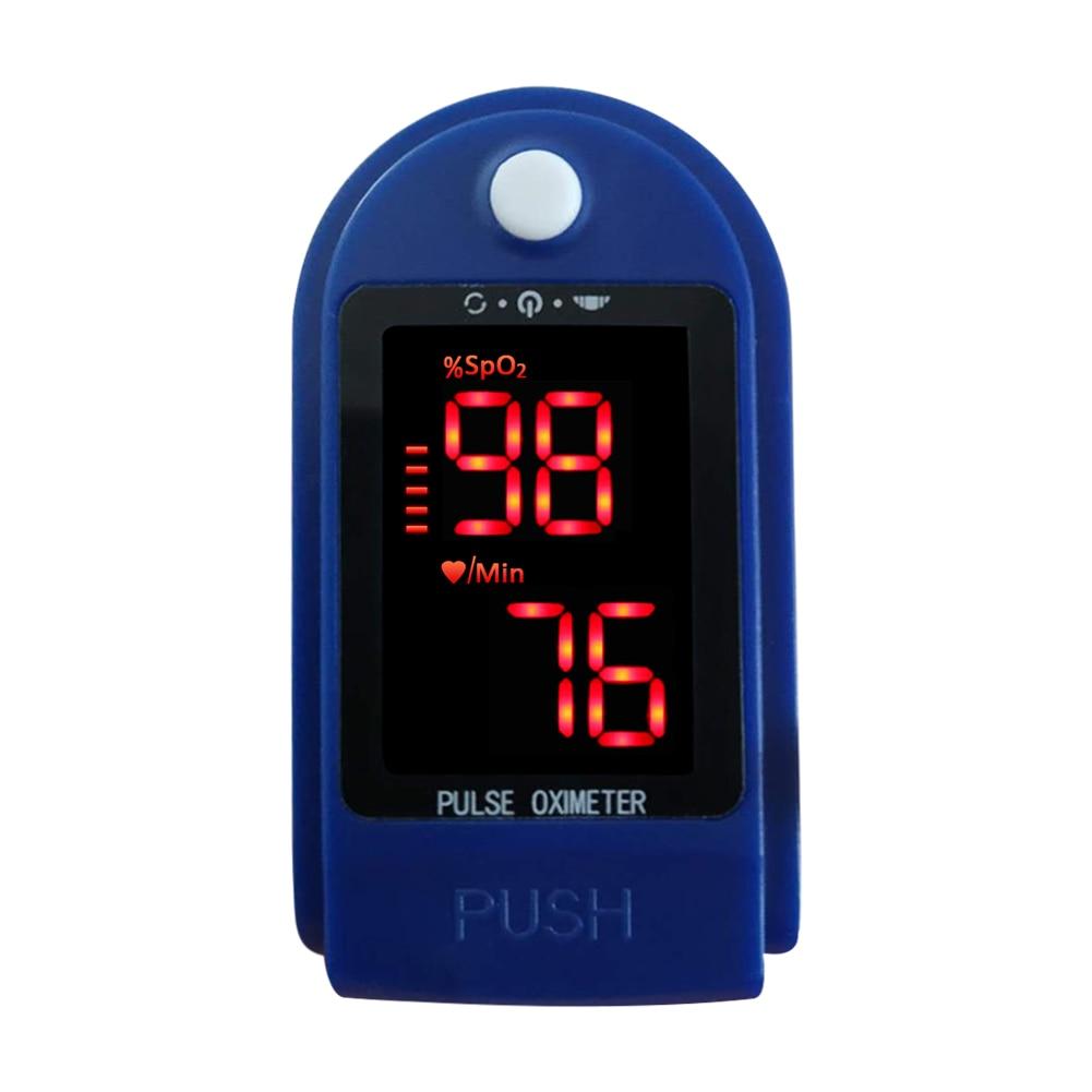 CMS50DL Fingertip Pulse Oximeter Blood Oxygen Saturation Meter SpO2 Monitor