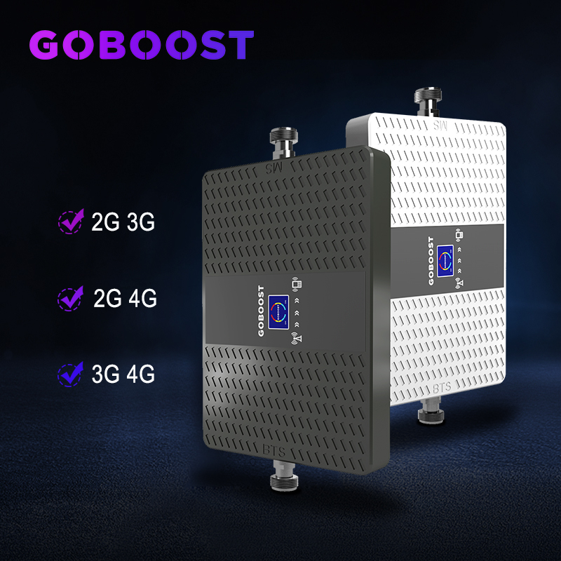 Signal Generator Gsm 2g 3g 4g Cellular Signal Booster 900 1800 2100mhz Cellular Amplifier 4g 2100mhz 3G Repeater ALC Dual Band #