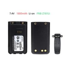 1800mAh Li-ion Replacement Battery Extender for Vertex EVX-C31, VZ-30, VZ-30-D0-5, VZ-30-G6-4 Walkie Talkie vz 629ваза стеклянная лето h 300