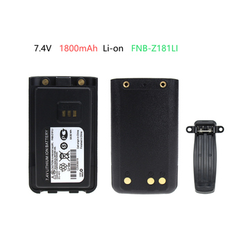 1800mAh Li-ion Replacement Battery Extender for Vertex EVX-C31, VZ-30, VZ-30-D0-5, VZ-30-G6-4 Walkie Talkie