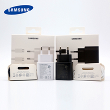 Samsung note10 Phone Charger 25W Type-c EU Super Fast Charging power adapter for Galaxy note 10 Plus 5G a90 A80 A70 A60 S10 S9 original samsung 25w fast charge wall charger ep ta800 for samsung galaxy note10 note10 plus s10 5g a60 a70 a80 25w fast charge