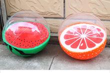 Водные воздушные шары надувной шарик из ПВХ в форме арбуза оранжевого