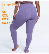 Women Leggings Gym Yoga Seamless Pants Large Plus Size XXXL XXXXL Sports Trousers Stretchy High Waist Athletic Exercise Fitness