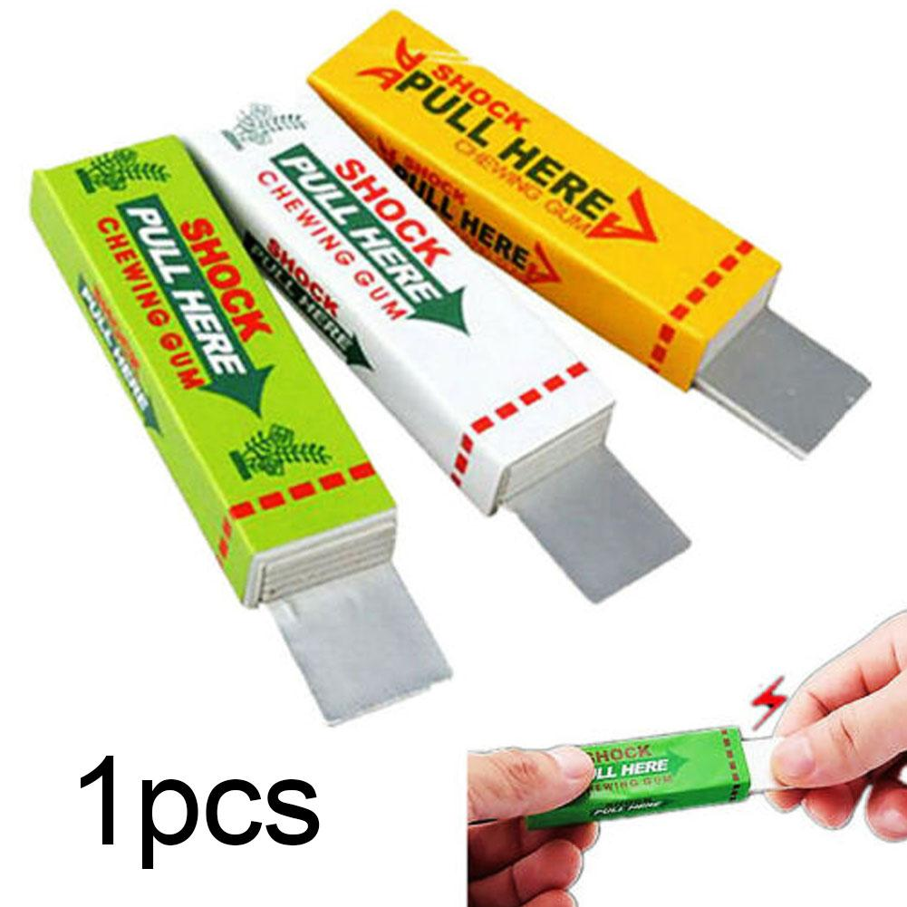 Practical Electric Shocking Chewing Gum Funny Toy Gift Safety Trick Joke Prank Gags Fantastic Aniti-stress Fun Toy For Kids