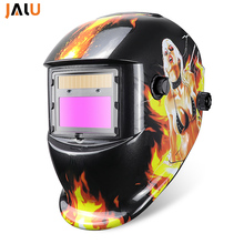 NEW Automatic Welding Helmet Mask Helmet Electric Welding Solar Auto Darkening Li Battery Welding Lens Mask