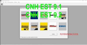Nowe holenderskie narzędzia elektroniczne (CNH EST 9 1 9 2 Dealer engineering Level) + aktualizacje + aktywator + wygasają + diagprocessions tanie i dobre opinie PLFYIYUNDIAGTOOL Oprogramowanie CNH DPA5