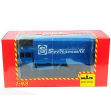 HAW ABTONPOM MA3-5146 1:43 Масштаб классический Россия синий фургон, контейнер грузовик литье под давлением автомобили Коллекция украшения комнаты подарок игрушки
