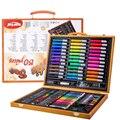 208 pièces enfants cadeau aquarelle dessin Art marqueur pinceau stylo ensemble enfants peinture Art ensemble pour enfants cadeau bureau papeterie fournitures