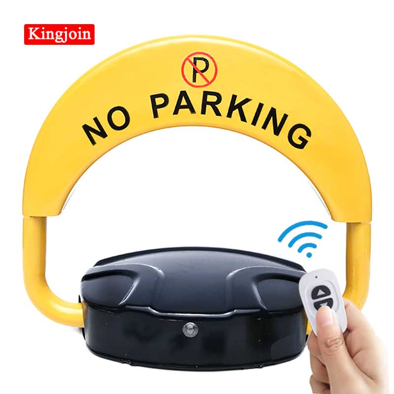 Automatic Parking Barrier Lock 2 Remote Control No Parking (excluding Battery) Parking Pile / Free Protective Mask/Safety Mask