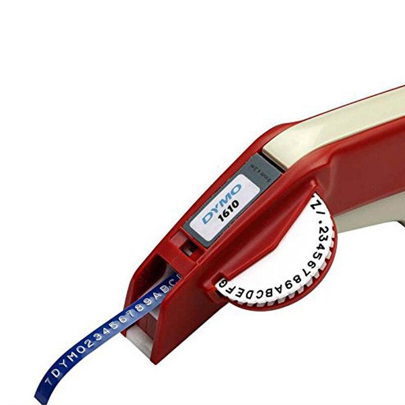 Dymo 1610 manuel étiqueteuse pour 3D gaufrage plastique 1610 manuel imprimante d'étiquettes 1610 pour Dymo organisateur Xpress manuel machine