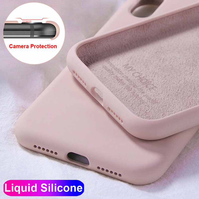 Liquid <font><b>Silicone</b></font> <font><b>Case</b></font> <font><b>For</b></font> <font><b>Xiaomi</b></font> <font><b>Mi</b></font> Note 10 Pro <font><b>9</b></font> <font><b>SE</b></font> 9T Pro A3 A2 8 Lite Slim <font><b>Soft</b></font> Cover <font><b>For</b></font> <font><b>Xiaomi</b></font> Redmi Note 8 7 Pro 8T 7A 8A image