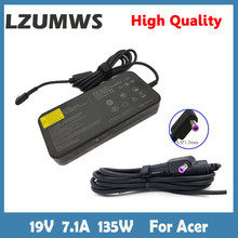 LZUMWSEU 19V 7.1A 135W 5.5*1.7mm AC Adapter Notebook Laptop Charger For Acer Aspire D270 D257 Power Supply For Laptop Adapter