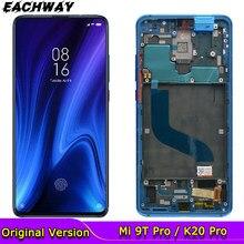 AMOLED LCD Für Xiaomi Mi 9T Mi 9T Pro Display Touchscreen Rahmen Digitizer Montage Für Xiaomi Redmi k20 Pro LCD K20 Bildschirm