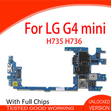 With Full Chips Motherboard For LG G4 Mini H735 H736 Logic Board Android System OS Mainboard Main Mother Boards