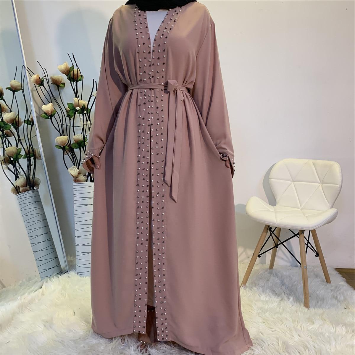 ИД Мубарак Абая Дубай, Турция мусульманское Абая для женщин хиджаб или вечернее платье Кафтан Исламская одежда Vestido арабское Mujer