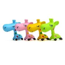 Cartoon Cute Home Garden Decorations Ornaments giraffe Figurine Garden Figures Miniature Landscape Decor kids gift