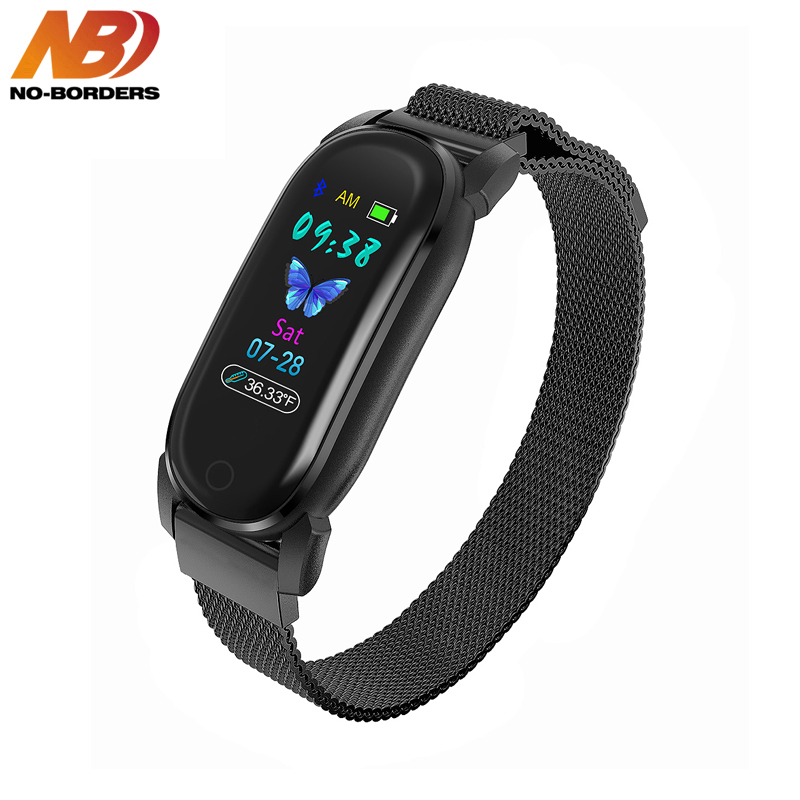 Temperature Smart Band Watch 2020 Women Men Smart Bracelet Fitness Tracker For Android IOS Smartband Top Luxury Wristband Wrist