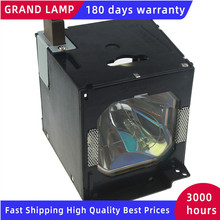 AN K10LP/BQC XVZ100001 החלפת מנורת מקרן עם דיור עבור חד XV Z10000, XV Z10000U, Z10000E עם 180 ימים אחריות