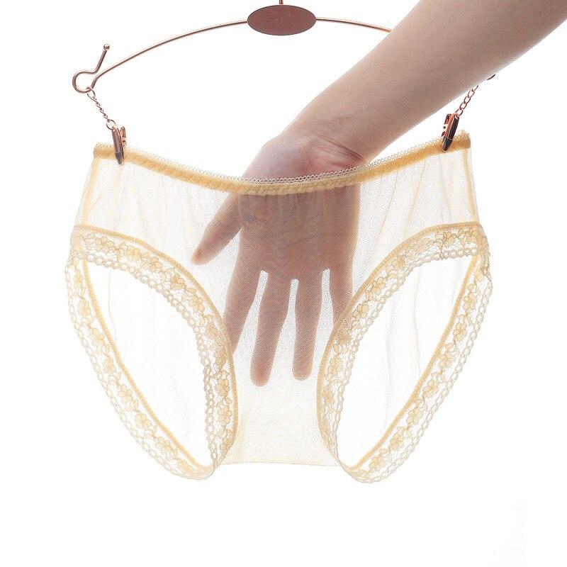 3 вещи в комплекте, прозрачные цельные бесшовные пикантные Для женщин дышащие трусики-стринги с низкой талией Горячее предложение! Кружевно...