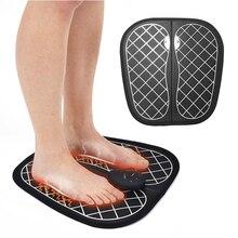 Инновационный EMS коврик массажеры для ног ABS физиотерапия Восстанавливающий педикюр Вибратор электрический стимулятор мышц ног Прямая поставка