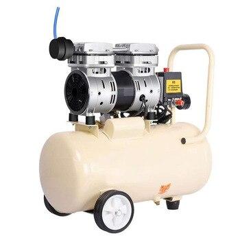 750W-30L compresseur dair silencieux sans huile petite pompe à Air pompe à Air multifonctionnelle
