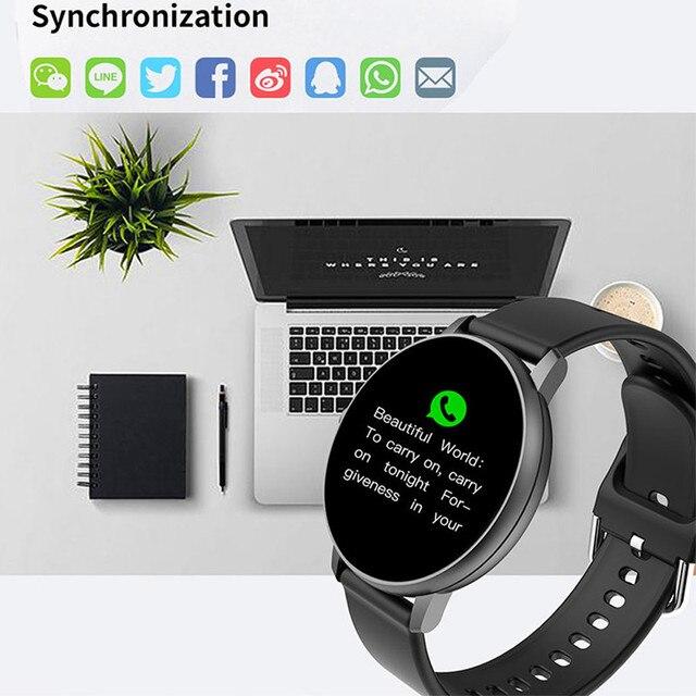 Smartwatches for Women & Men Full Touch Smart Watch Waterproof Heart Rate Monitor Sports smartwatch 2