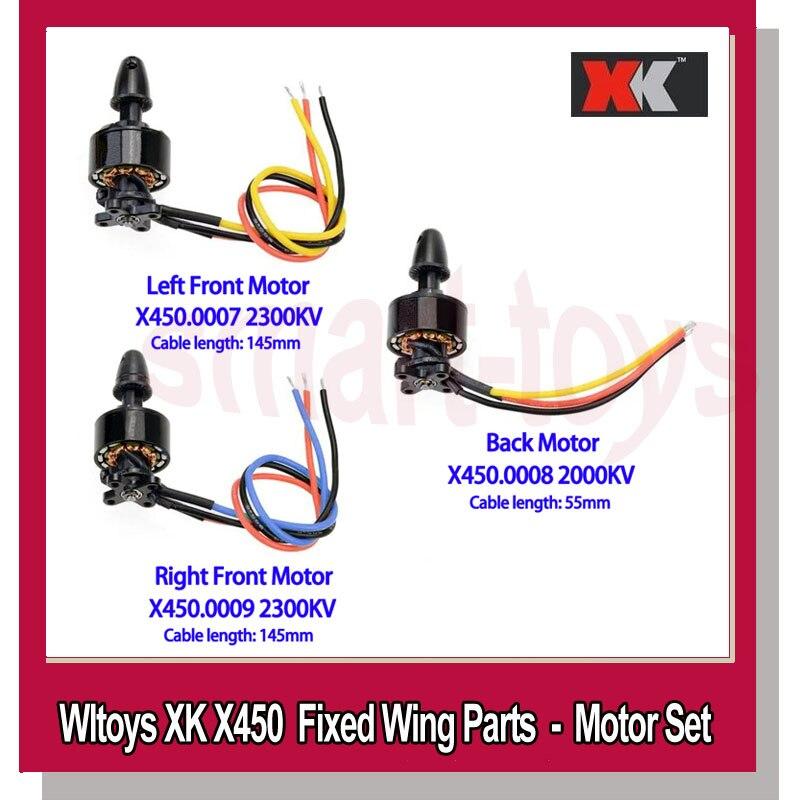 WLtoys XK X450 X450 Motor Brushless Do Motor Principal para Wltoys Peças de Aeronaves de Asa Fixa Avião RC