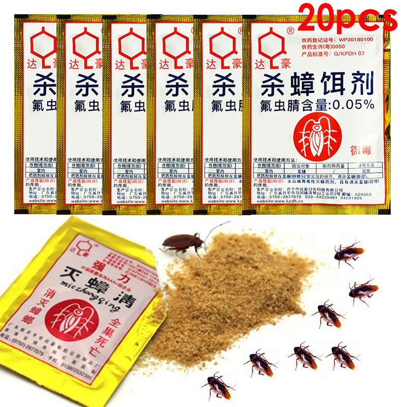 20 шт., средство для уничтожения тараканов